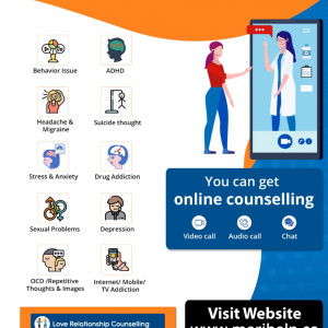Online psychological counselling in India.