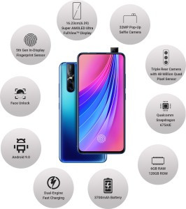 VIVO V15 Pro (Topaz Blue, 128 GB)  (6 GB RAM) Review